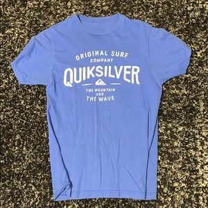 Small Blue Quicksilver Shirt